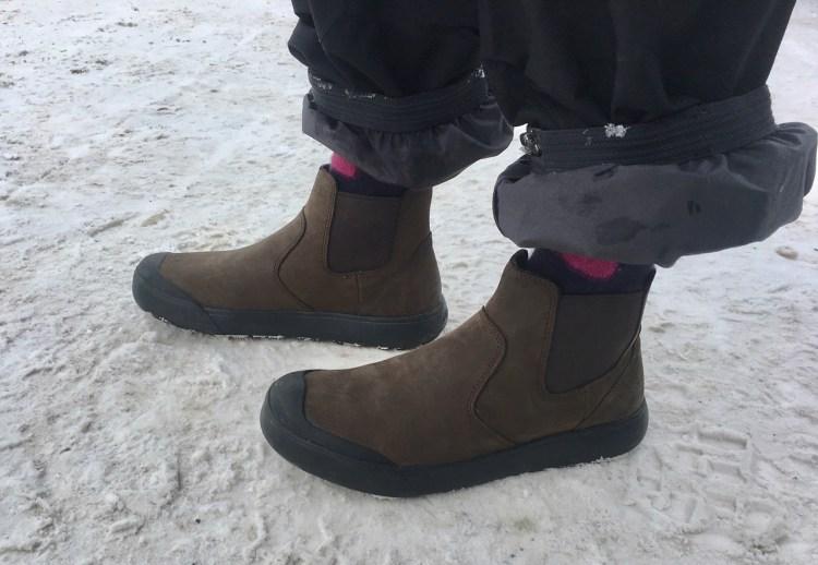 KEEN Women's Elena Chelsea: A Winter Sneaker 1