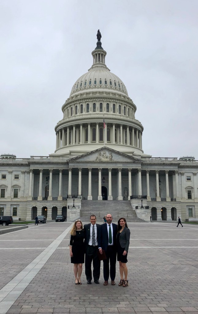 NEMO leverage's their voice with the outdoor industry in Washington, D.C.