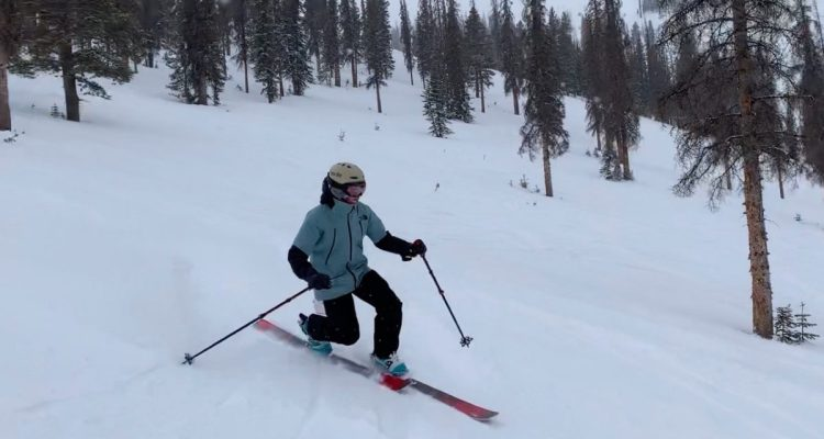 Liberty Evolv100 Skis review Engearment