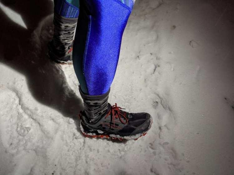 Winter Running Gear Winter Crosspoint Socks