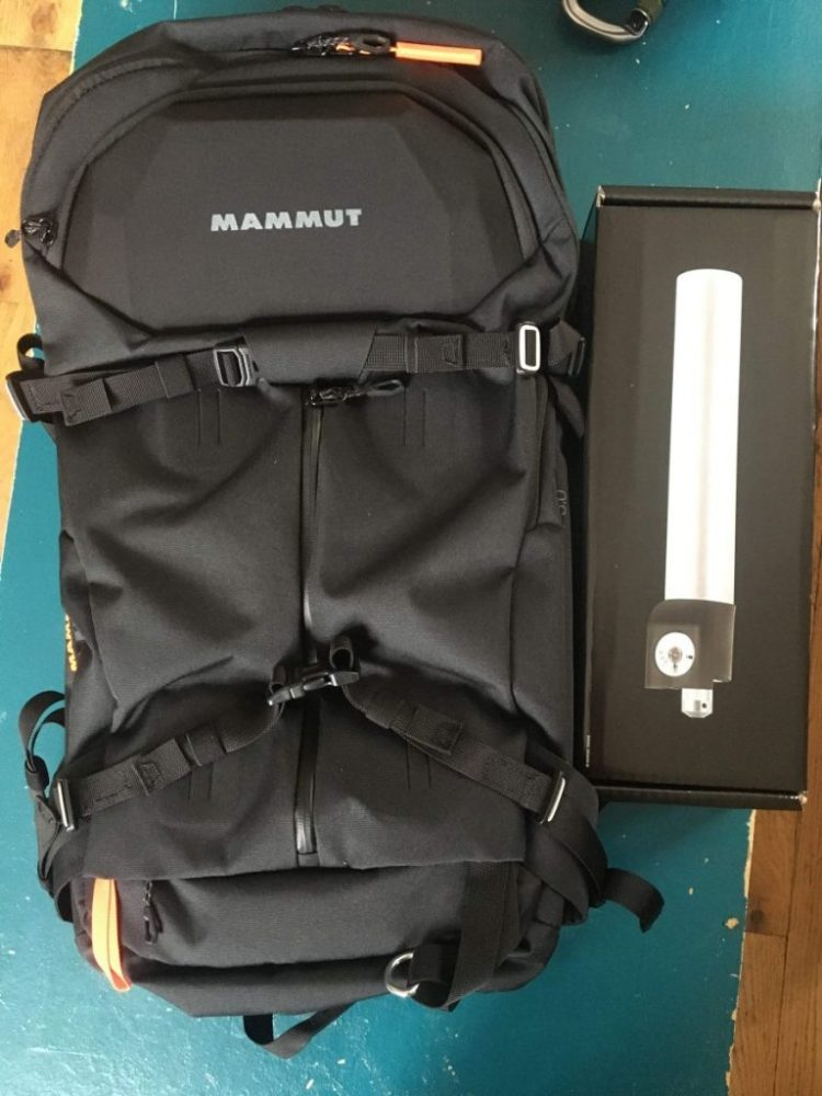 Mammut Pro X Removable Airbag 3.0 Front View