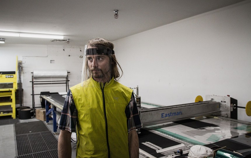 DPS Skis, Goal Zero, Petzl and Eastman Partner to Produce Face Shields for Healthcare Workers in Utah 4