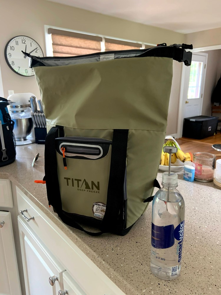 Titan Rolltop Tote 12 Can Cooler