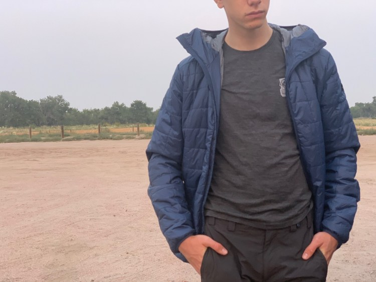 The Forclaz Padded Jacket makes a great layer in the pack for cooler evening temperatures.