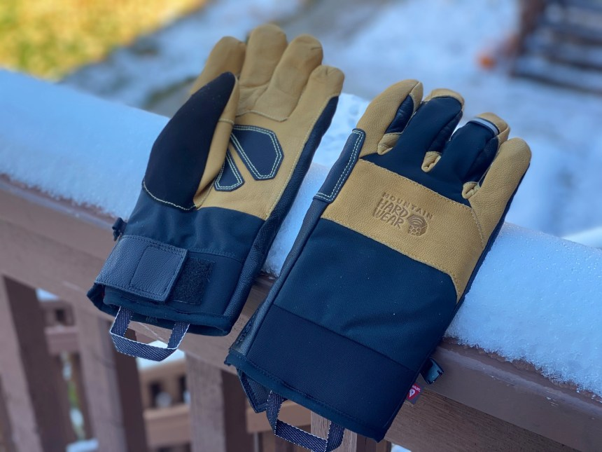 Mountain Hardwear Exposure Light Goretex Glove