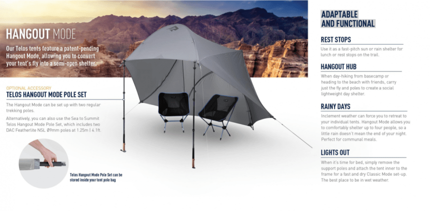 Sea to Summit Tension Ridge Tents