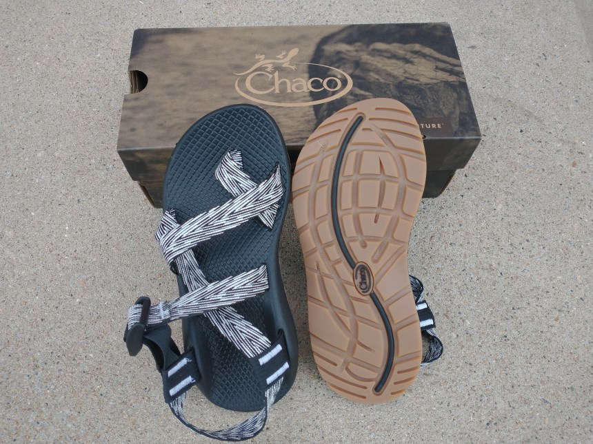 Chacos Z Cloud and matching dog collar and leash