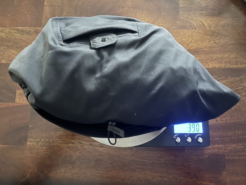 Arc'teryx Trino SL weight 390 grams Engearment