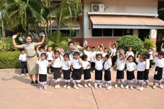 One of the preschool classes
