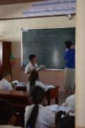 Blick in ein Klassenzimmer