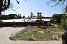 Blick auf den Schulhof im November 2015
