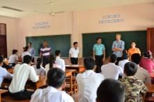 Das Interviewteam von Angels for Children, dem Lao-German Technical College und BHS Corrugated