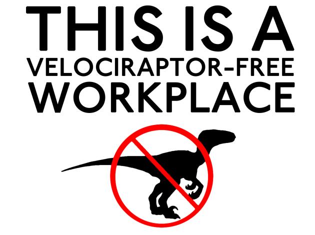 velociraptor-free