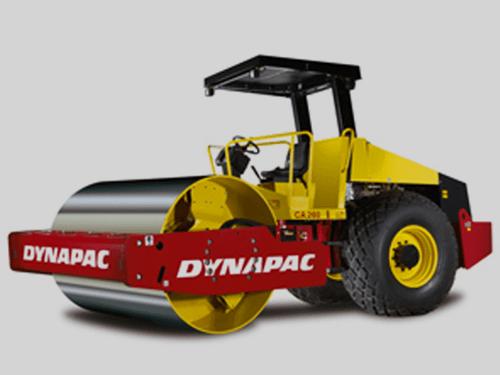 Máquinas utilizadas na construção civil Rolo compactador liso blog da engenharia