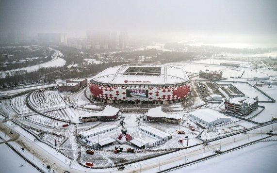 Estádio Spartak - copa do mundo 2018
