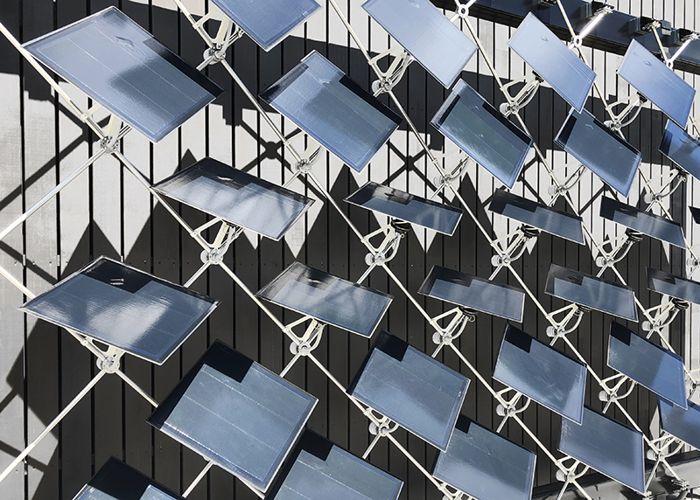 painéis solares móveis