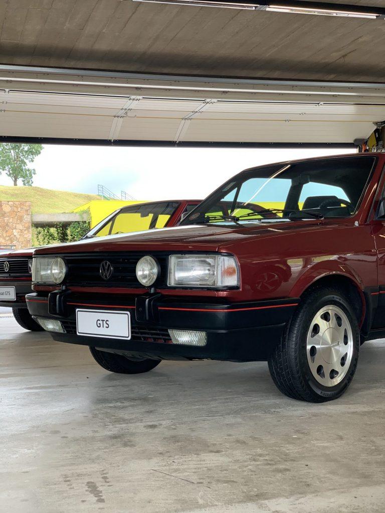 GTS Volkswagen década de 80 vermelho