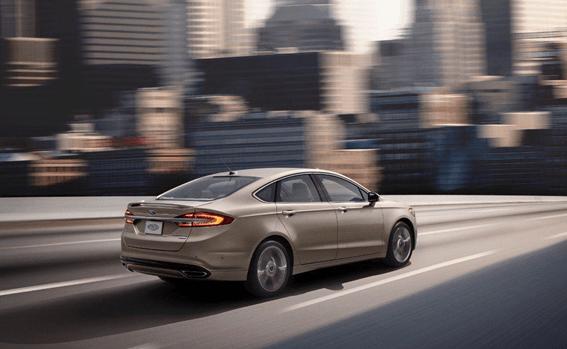 Ford Fusion Traffic Jam