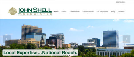 John Shell & Associates | Financial & B2B Services Web Design Greenville SC