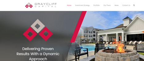 Graycliff Capital | Financial & B2B Services Web Design Greenville SC