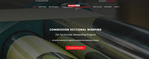 Warptek | Construction & Residential Web Design Greenville SC