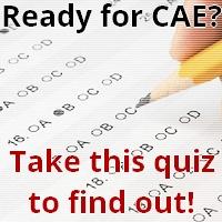 CAE quiz