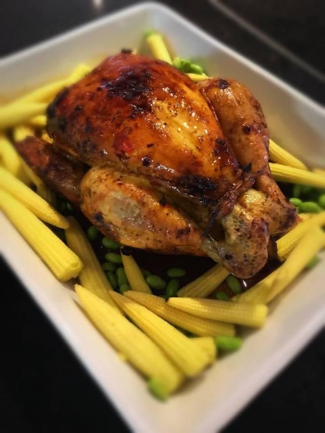 Roast Chicken in Sambal Chili Sauce 2