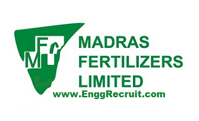 Madras Fertilizers Limited - MFL Recruitment 2019