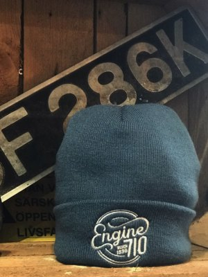 Engine 710 Beanie Blue