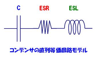 コンデンサ_3素子モデル