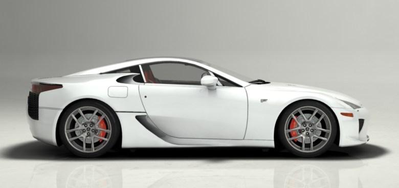 Lexus LFA. Se non visualizzi correttamente l'immagine prova a ricaricare la pagina