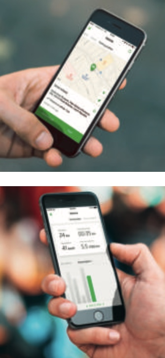 Skoda Karoq - app Skoda Connect. Se non visualizzi correttamente l'immagine prova a ricaricare la pagina