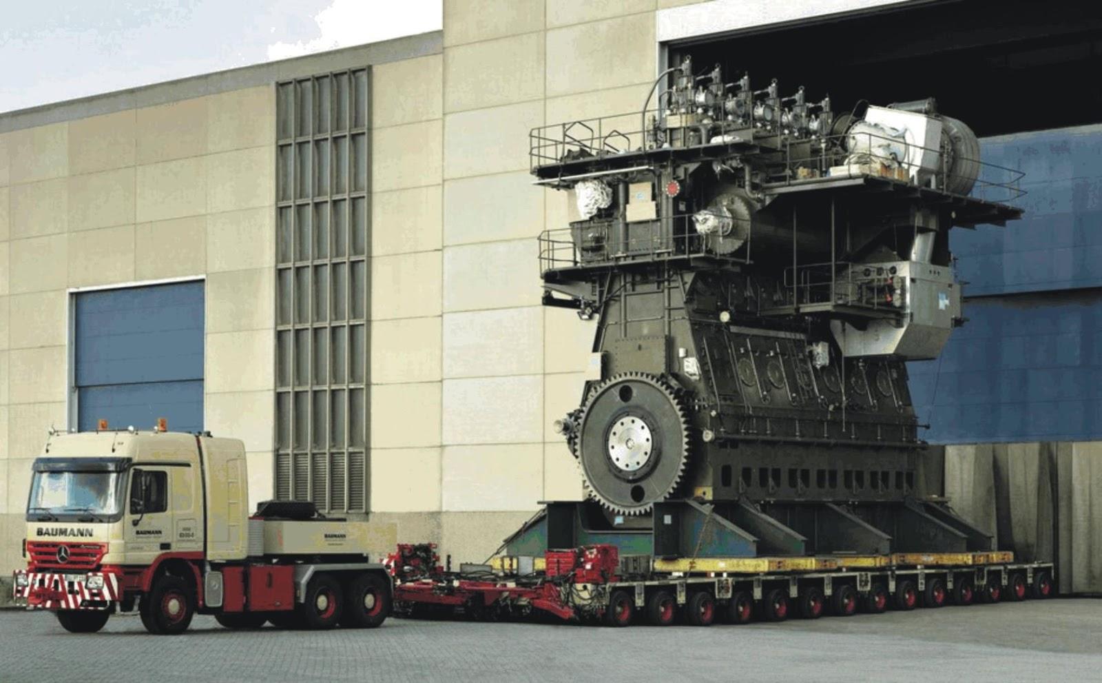 Il motore più grande del mondo! Wärtsilä-Sulzer RTA96-C