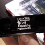 For a nominal fee, you can get a custom logo of your design permanently applied to your putter.