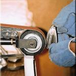 Multi-Tool Belt Grinder - sole & bounce adjustment