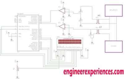 Circuit Diagram of Power Factor Meter