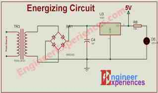 Energizing Circuit for 3 phase Smart Energy Meter