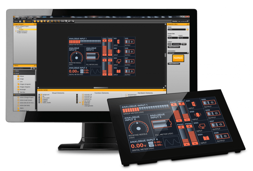 Rapidly Develop Touchscreen Process Control And User