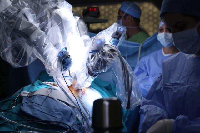Precision in surgical robots