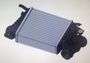 Stock intercooler rendering