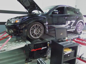 Mishimoto 2010 STI shop vehicle