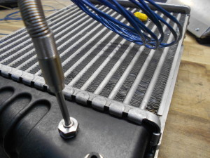 Mishimoto prototype intercooler temperature sensor