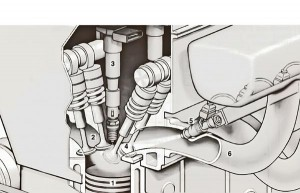 Port injection cutaway example