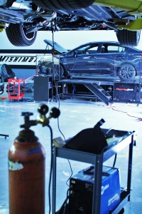 WRX fabrication and testing
