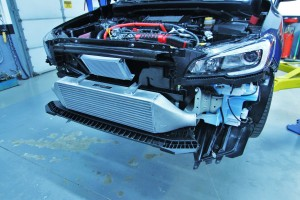 Mishimoto WRX 2001–2014 intercooler test fit