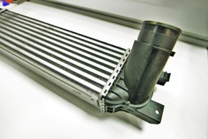Stock intercooler inlet