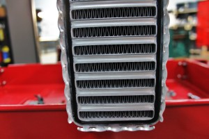 Stock intercooler core