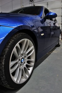 BMW 335i test vehicle