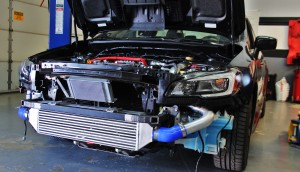 Cold-side intercooler pipe fabrication
