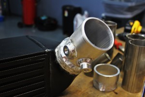 Mishimoto prototype intercooler sensor bungs